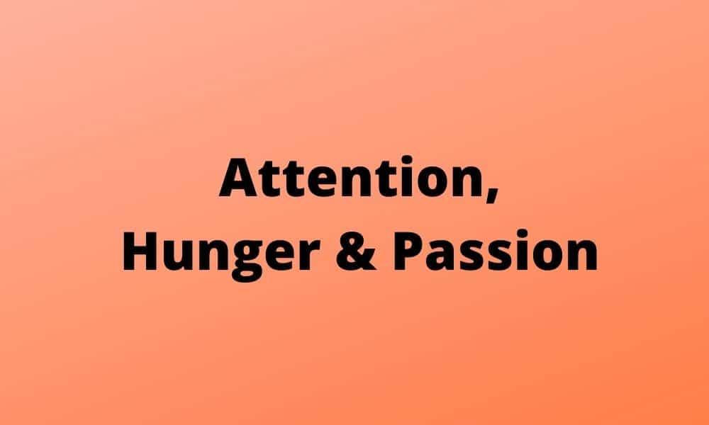 Rot kommuniziert Aufmerksamkeit und Leidenschaft