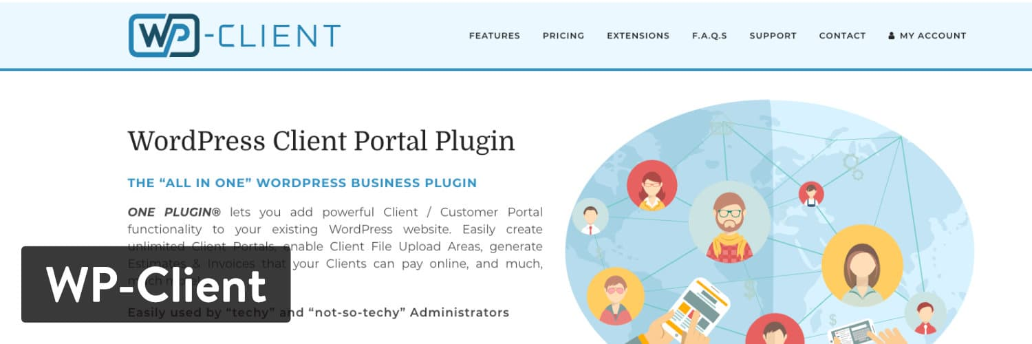 WP-Client WordPress-Plugin