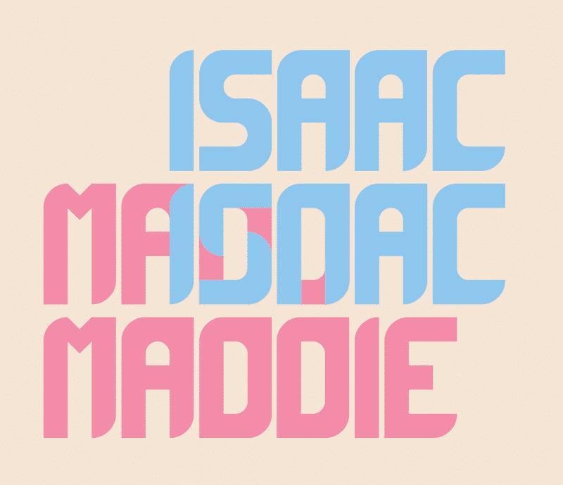 Modern fonts: maddac