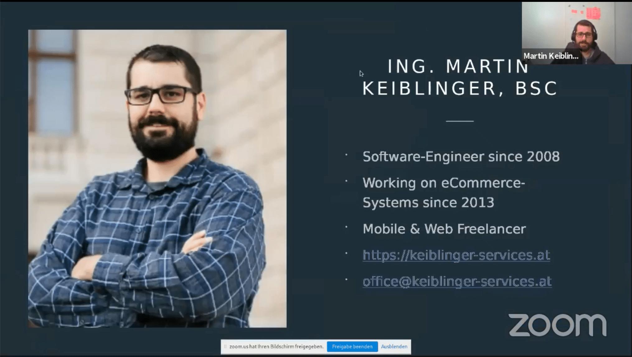 Martin Keiblinger - WordPress meetup Wien