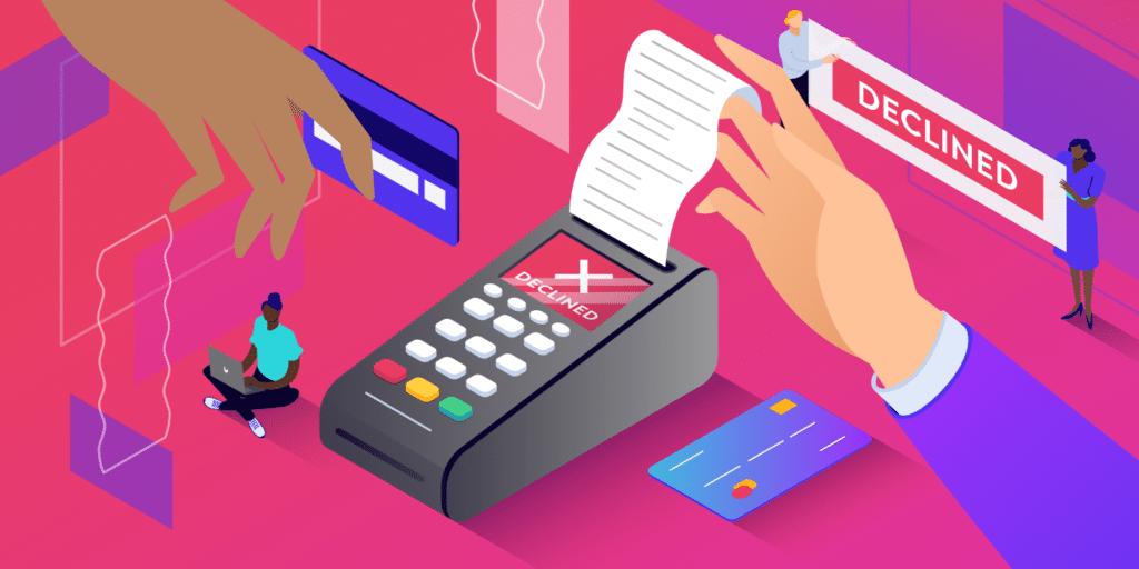 Die vollständige Liste der Codes für abgelehnte Kreditkarten im Jahr 2021