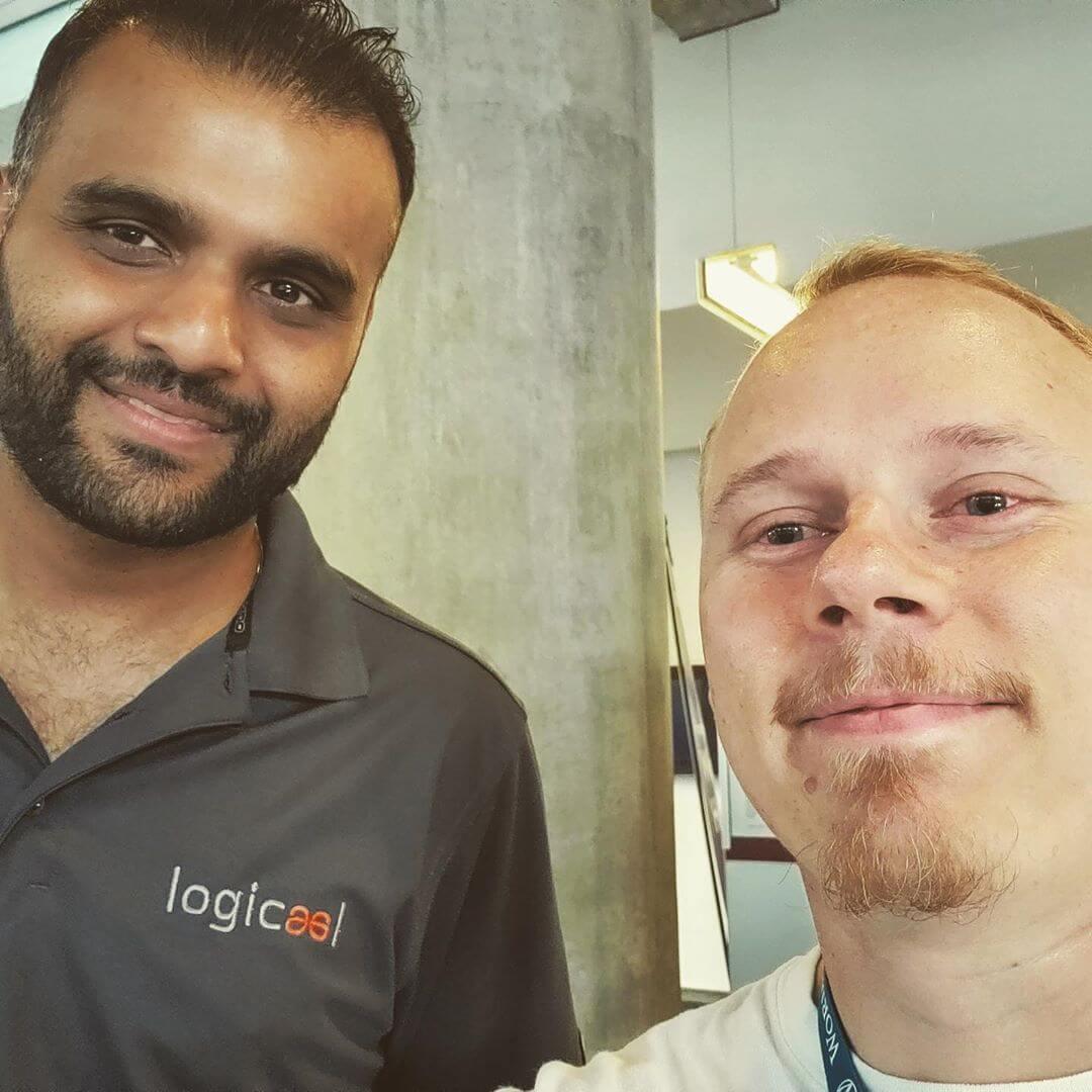 Kinsta-teamet på WordCamp Montreal