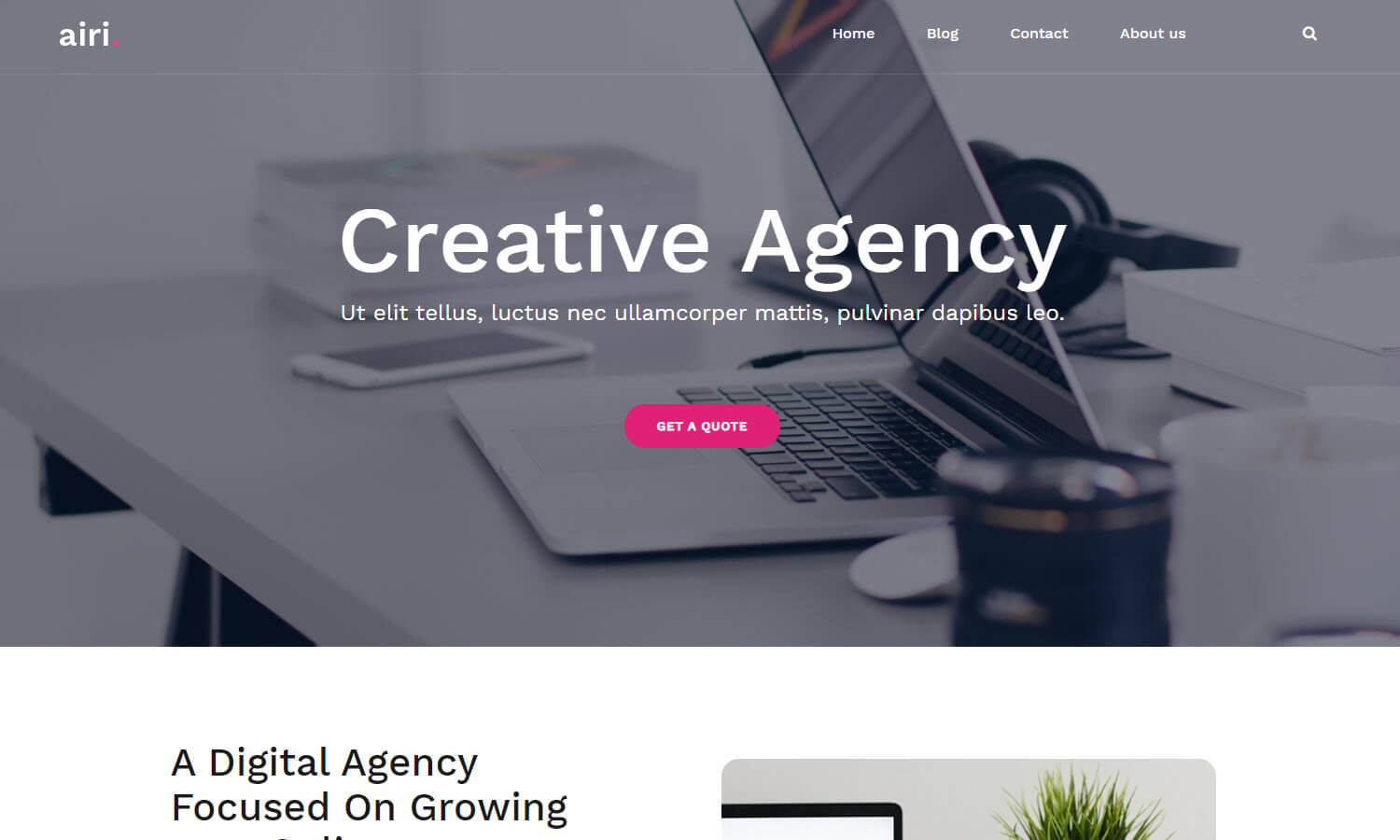 Airi screenshot