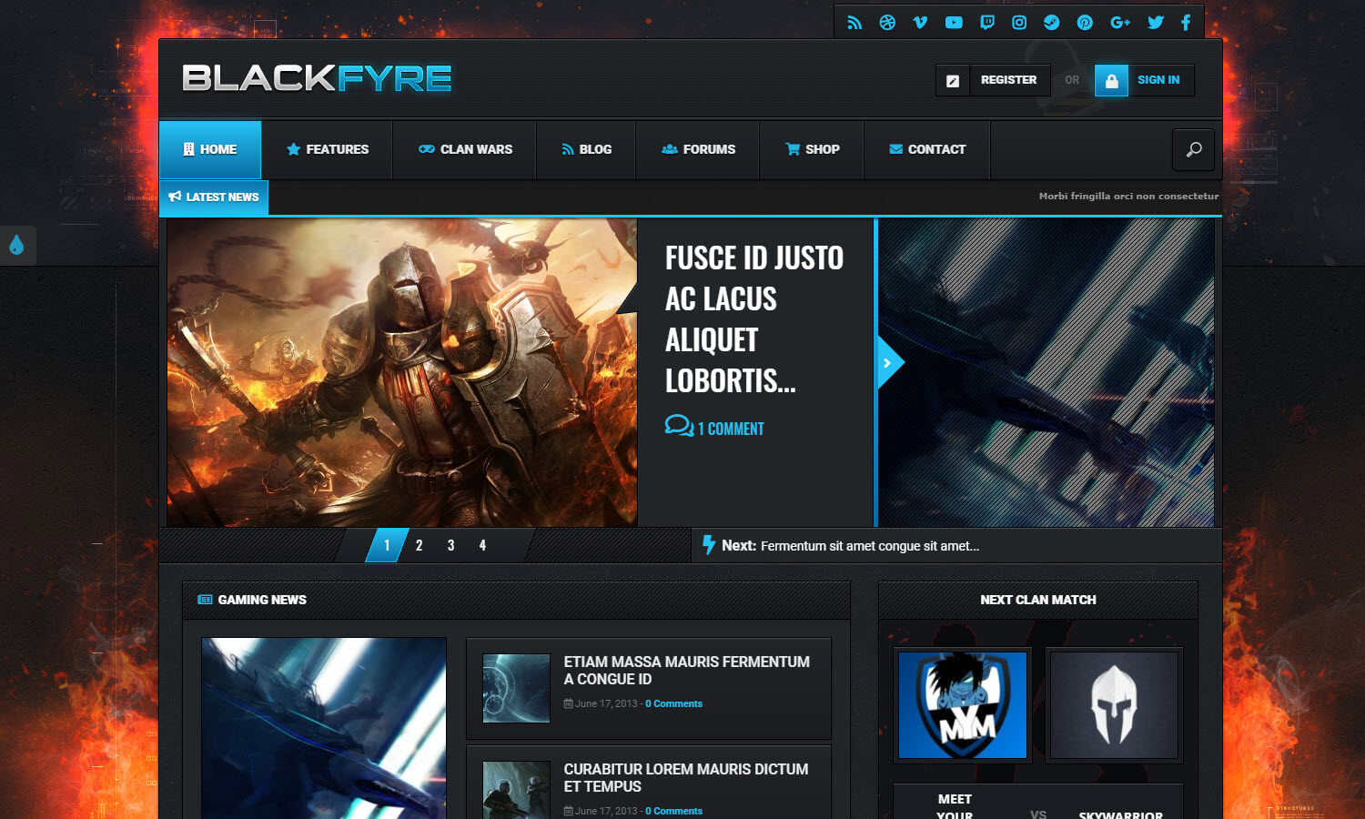 Blackfyre screenshot