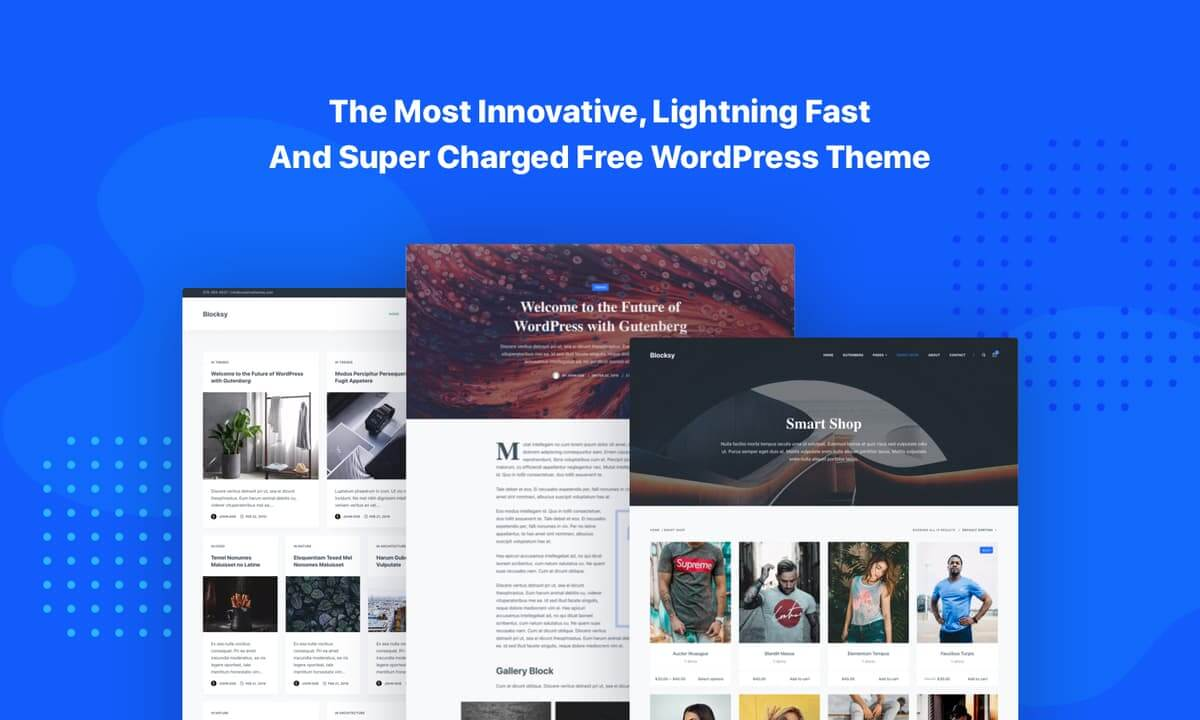Blocksy screenshot