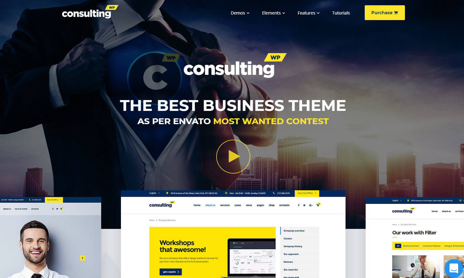 Consulting screenshot