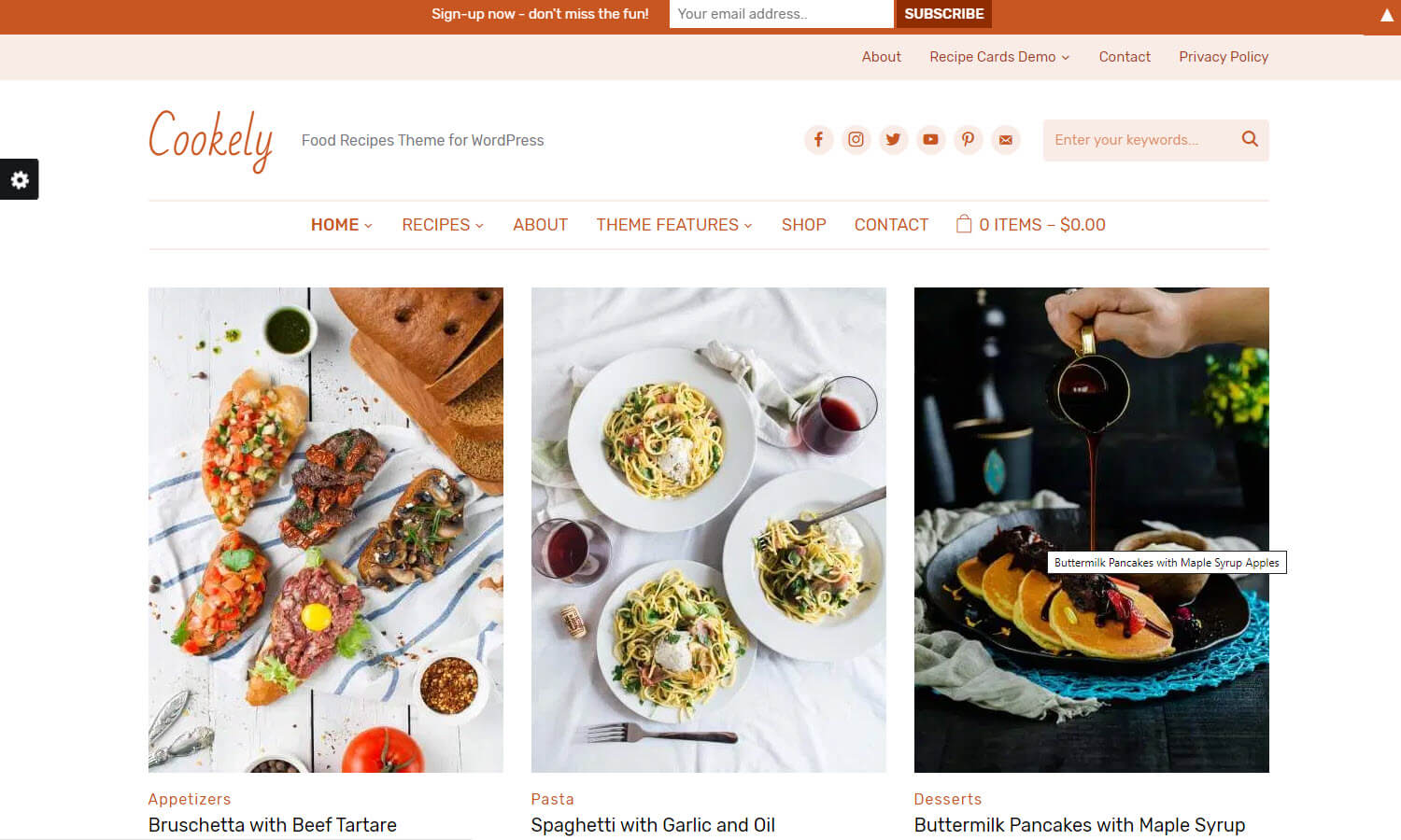 Cookely screenshot
