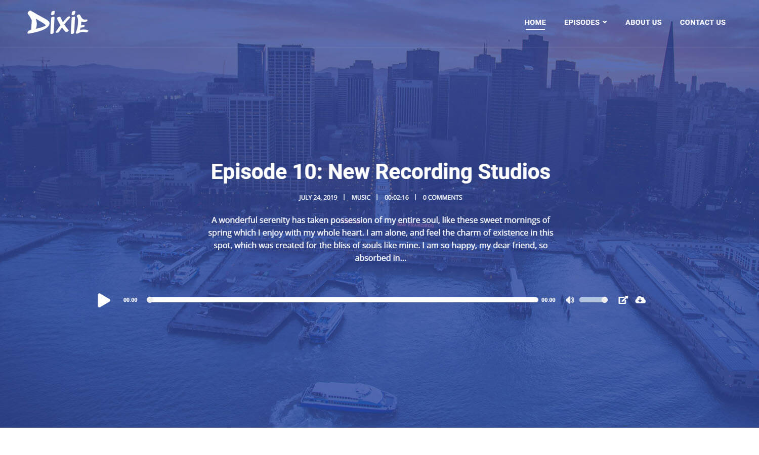 Dixie screenshot