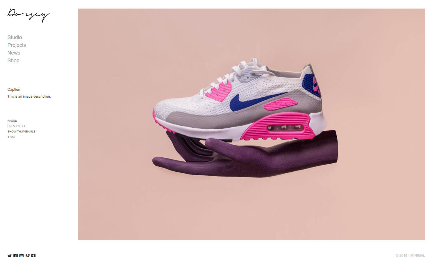 Dorsey screenshot