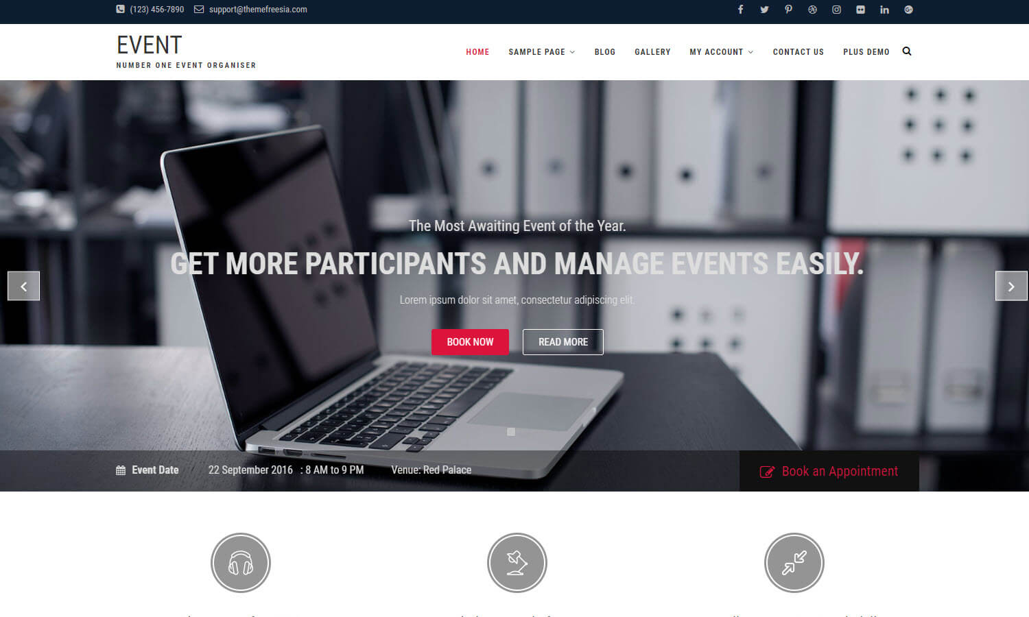 Event screenshot