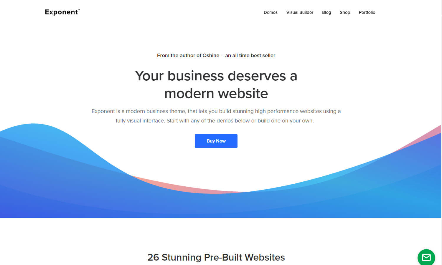 Exponent screenshot