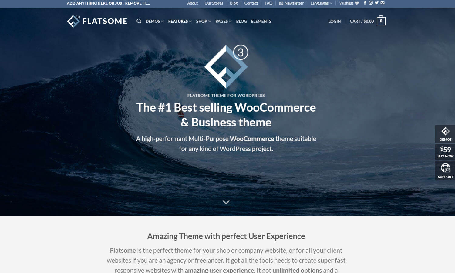 Flatsome screenshot