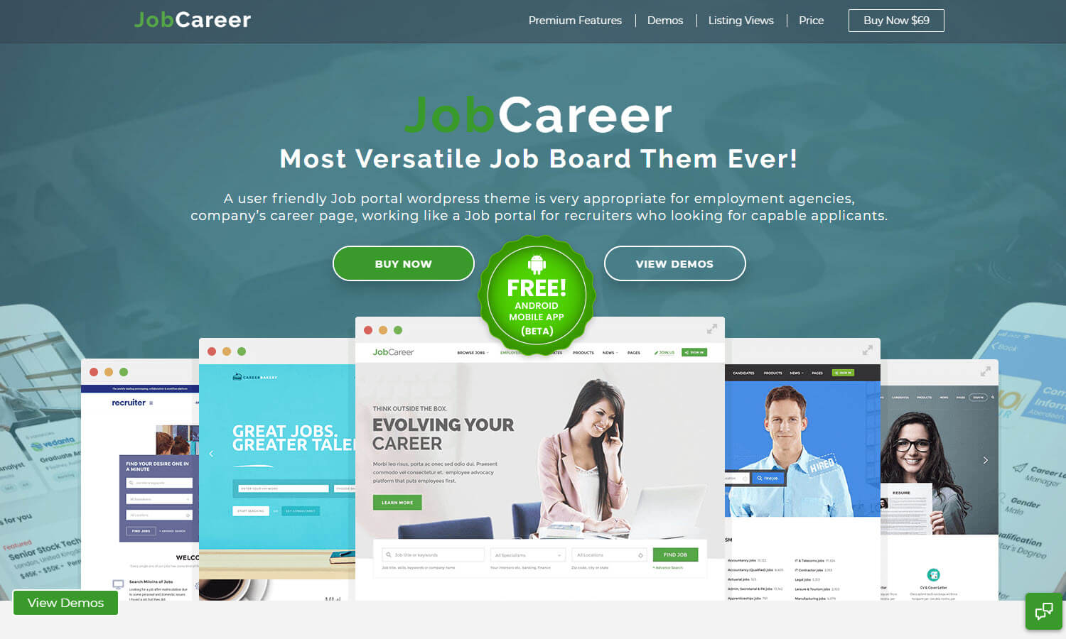 JobCareer screenshot