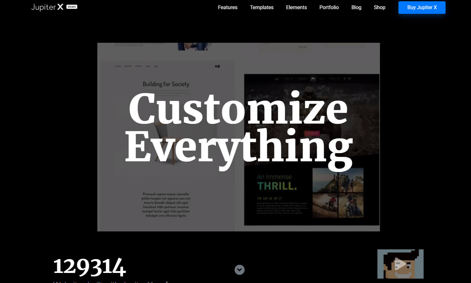 JupiterX screenshot