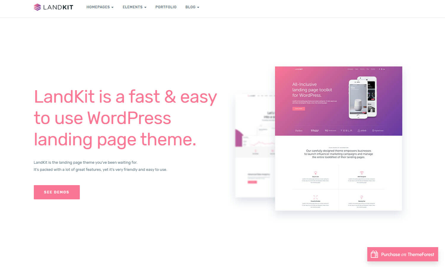 Landkit screenshot