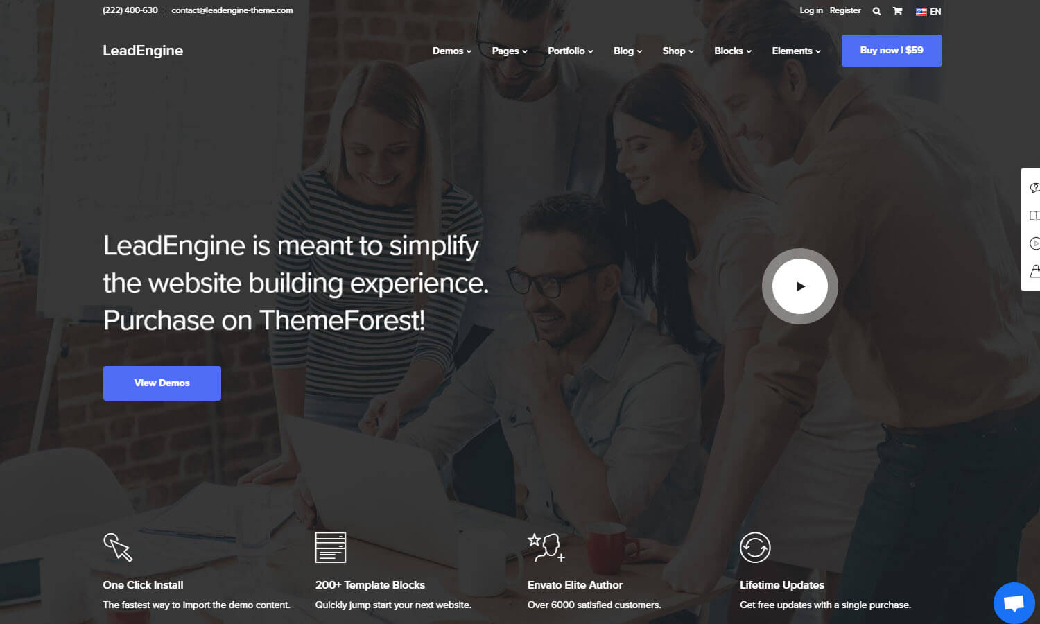 LeadEngine screenshot