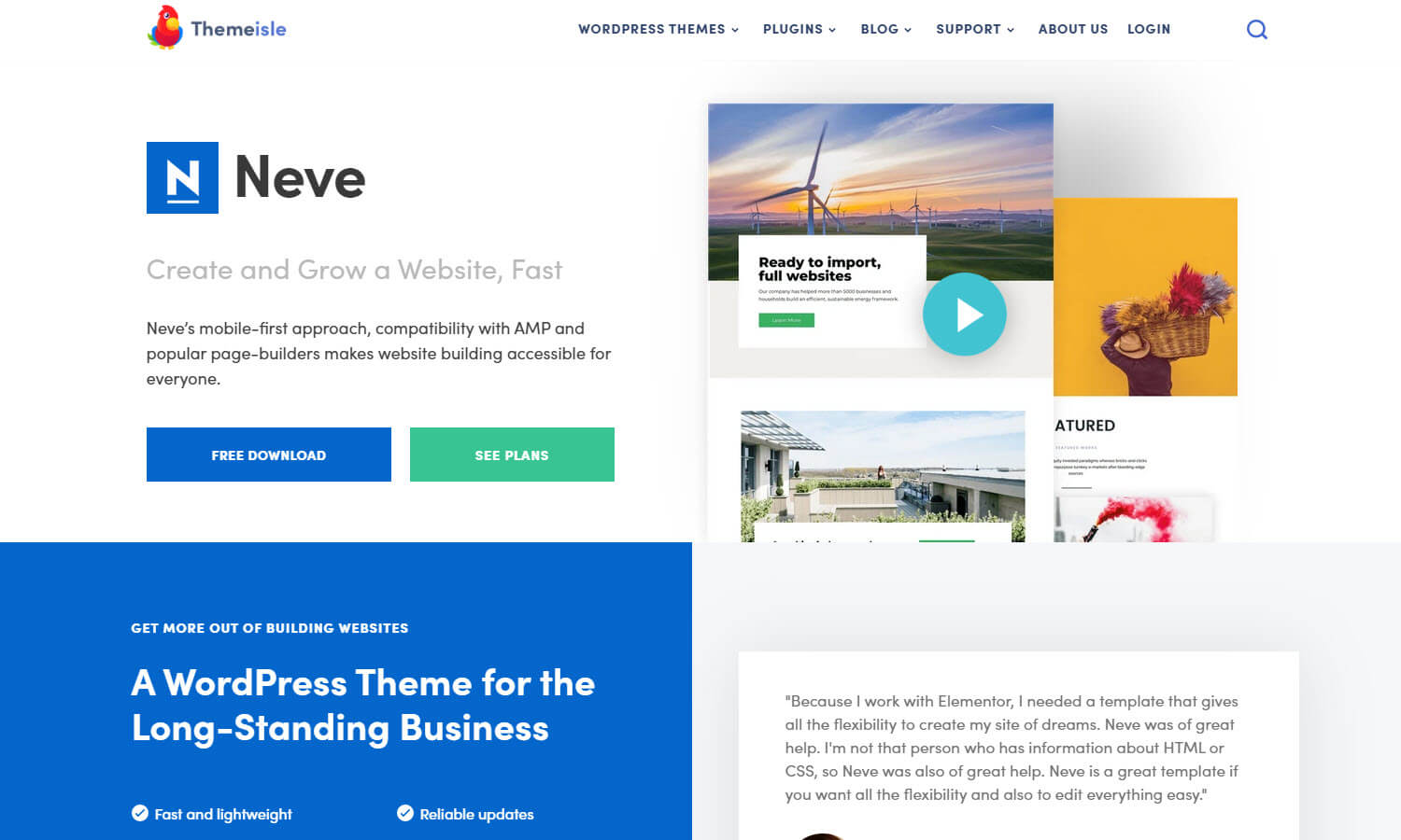 Neve screenshot