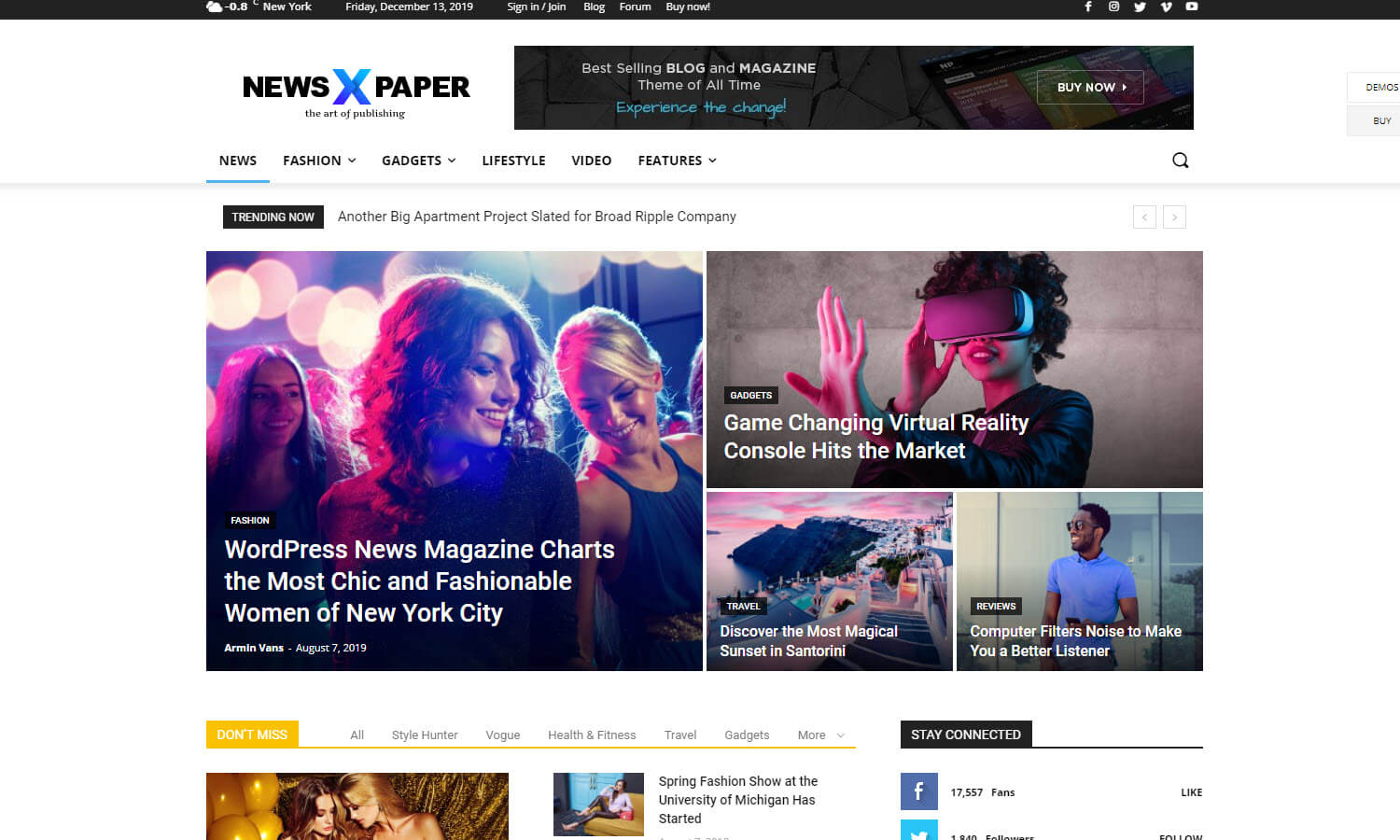 Newspaper screenshot