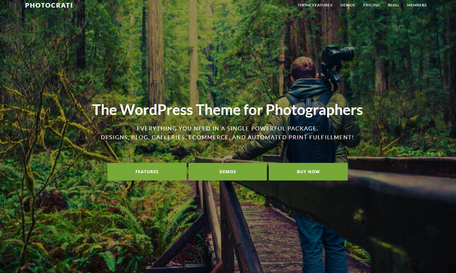 Photocrati screenshot