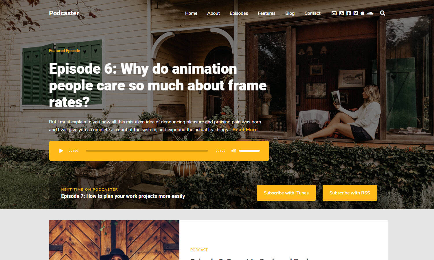 Podcaster screenshot
