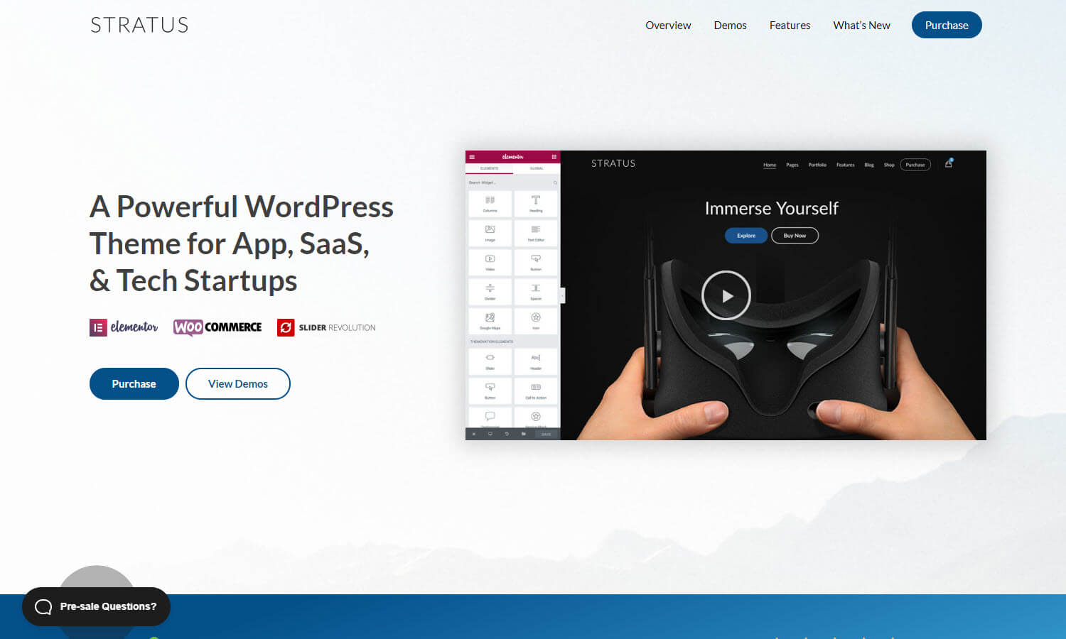 Stratus screenshot