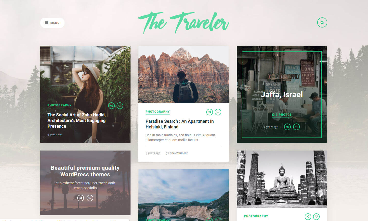 The Traveler screenshot