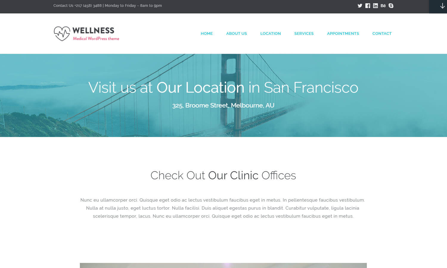 Wellness screenshot