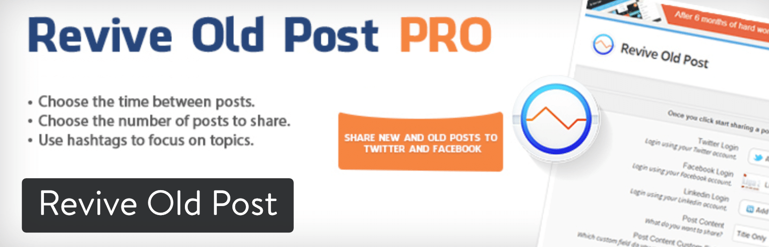 Revive Old Post WordPress-plugin