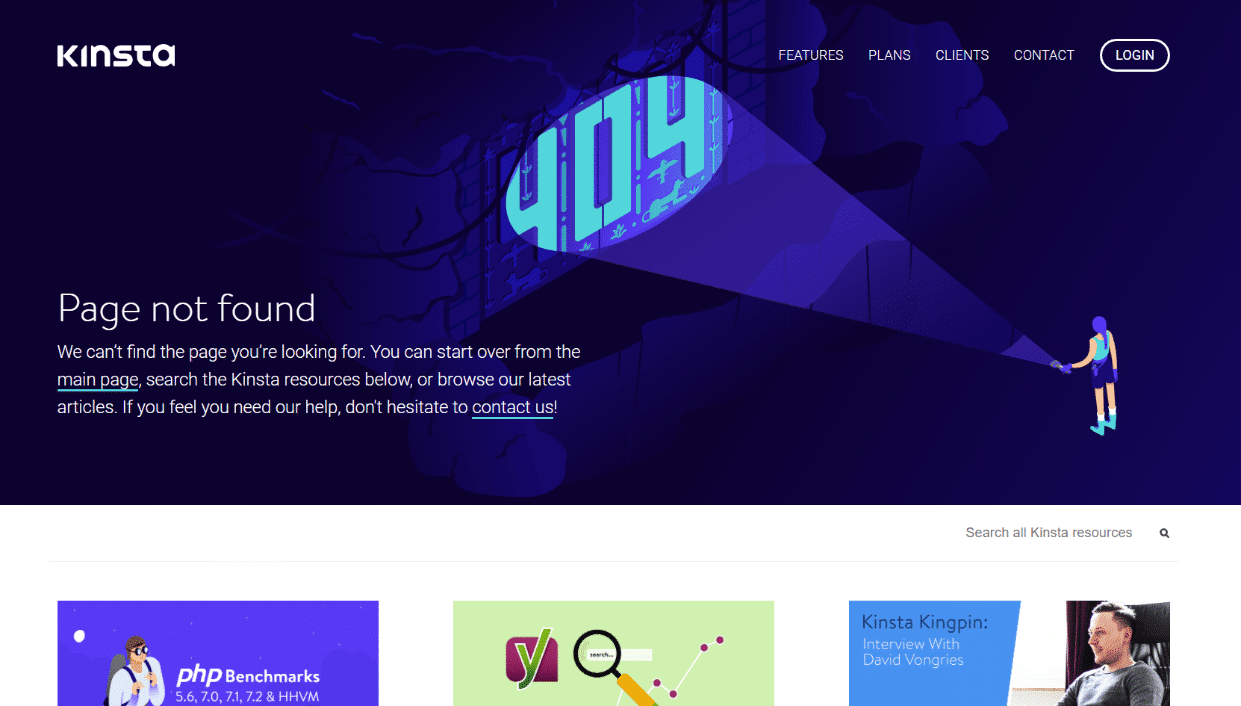 404 fejlside