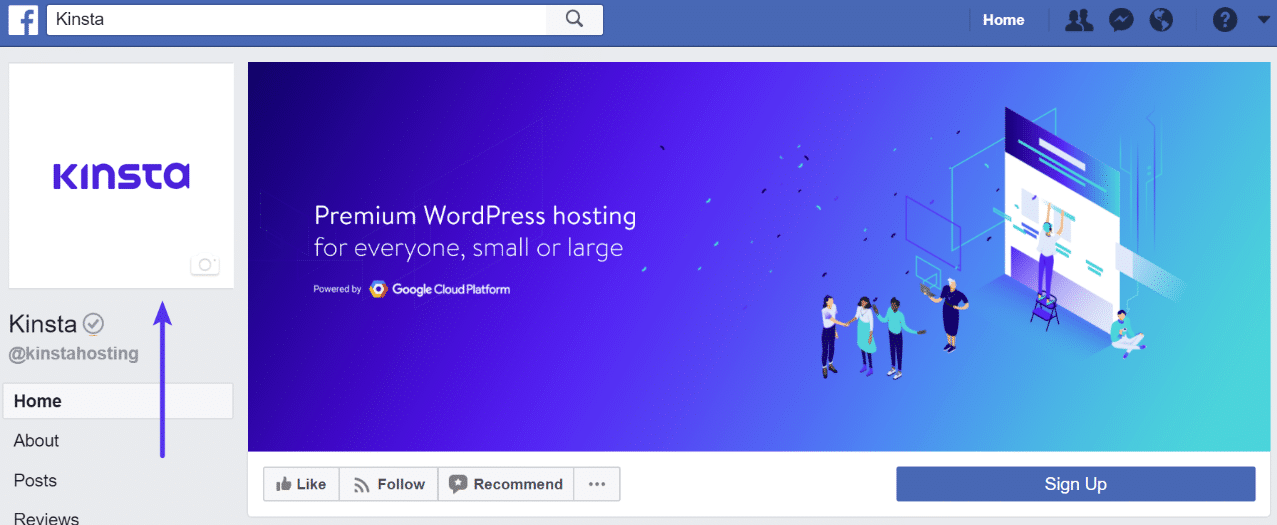 Facebook-profilbillede