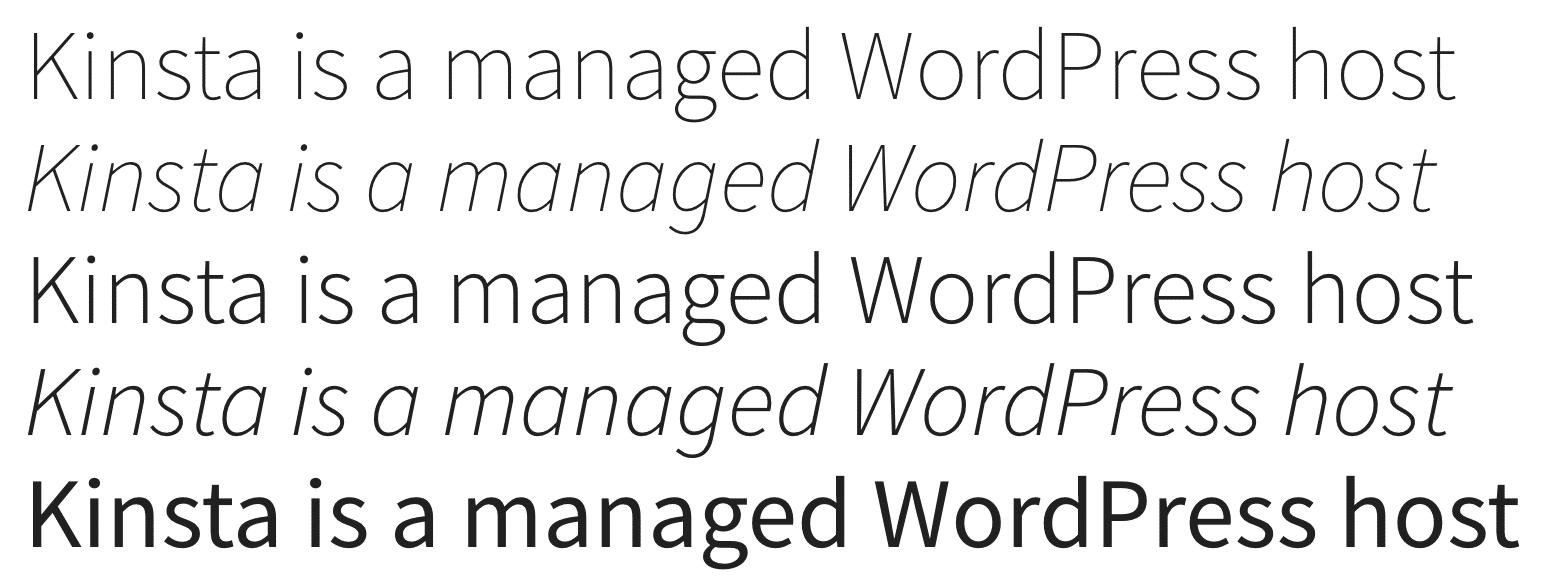 Source Sans Pro Google font