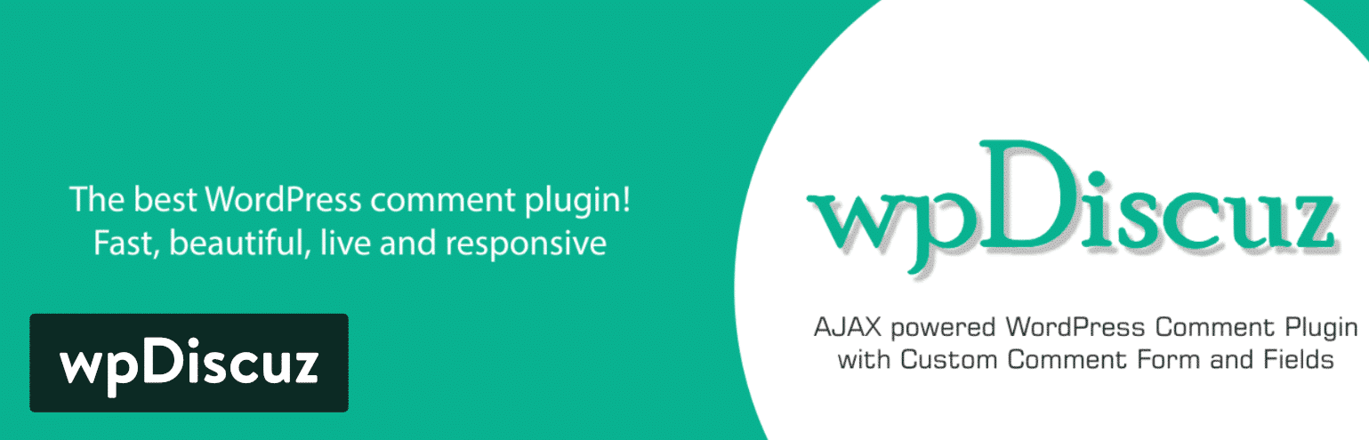 wpDiscuz WordPress kommentar plugin