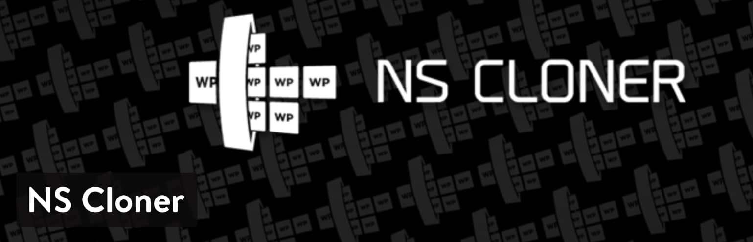 NS Cloner multisite WordPress-plugin