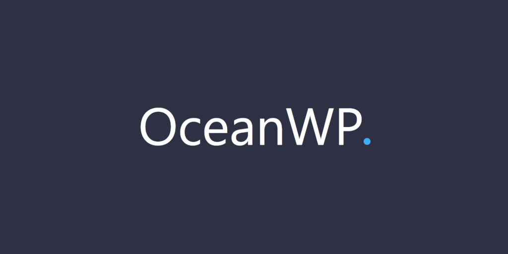 OceanWP: Nemt at tilpasse og lynhurtig WordPress Tema