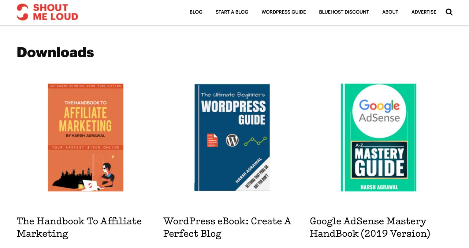 ShoutMeLoud e-bøger