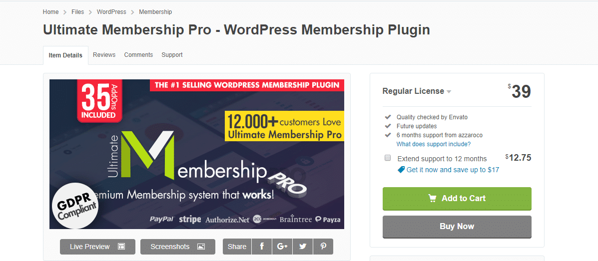 Website ideas: creating membership with Ultimate Membership Pro