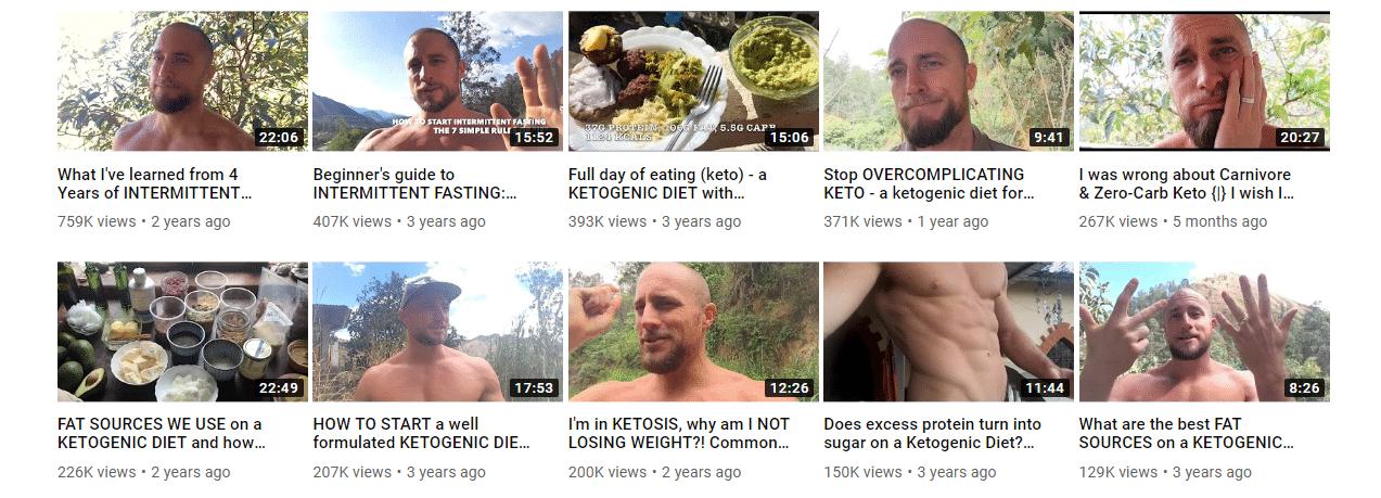 Videoer fra Primal Hedge Health Channel