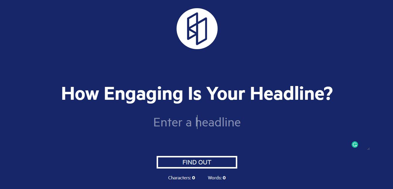 Best headline analyzer tools: Sharethrough Headline Analyzer