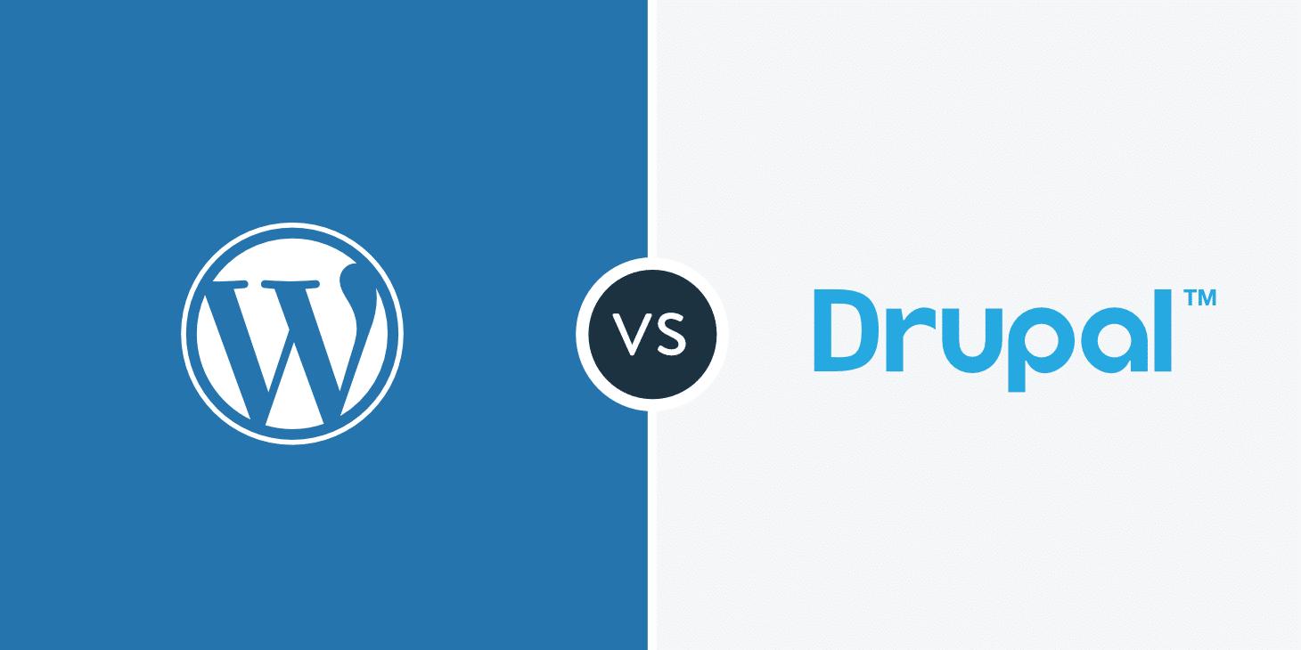 WordPress vs Drupal - Hvilken er bedre? (Fordele og ulemper)