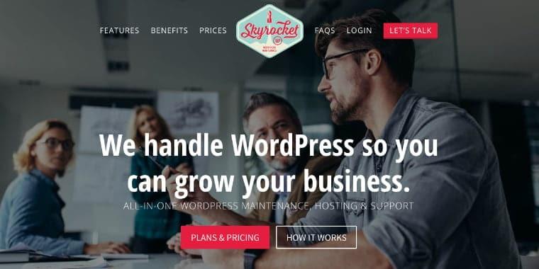 Hvorfor SkyrocketWP flyttede over 100 WordPress-websteder til Kinsta