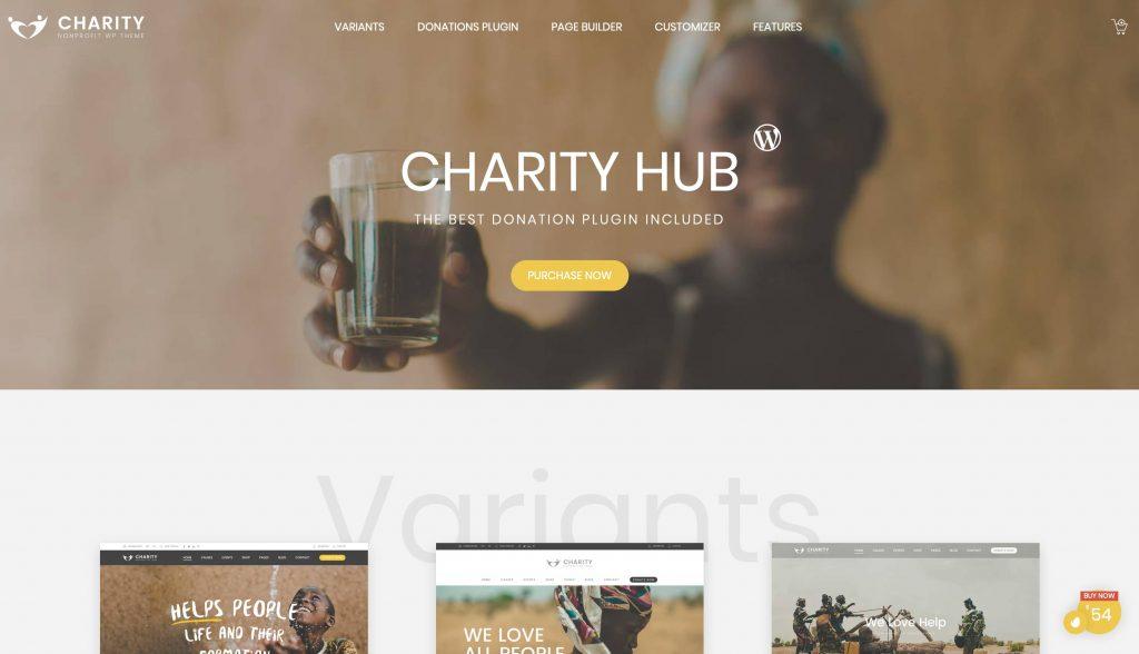Charity Foundation-tema