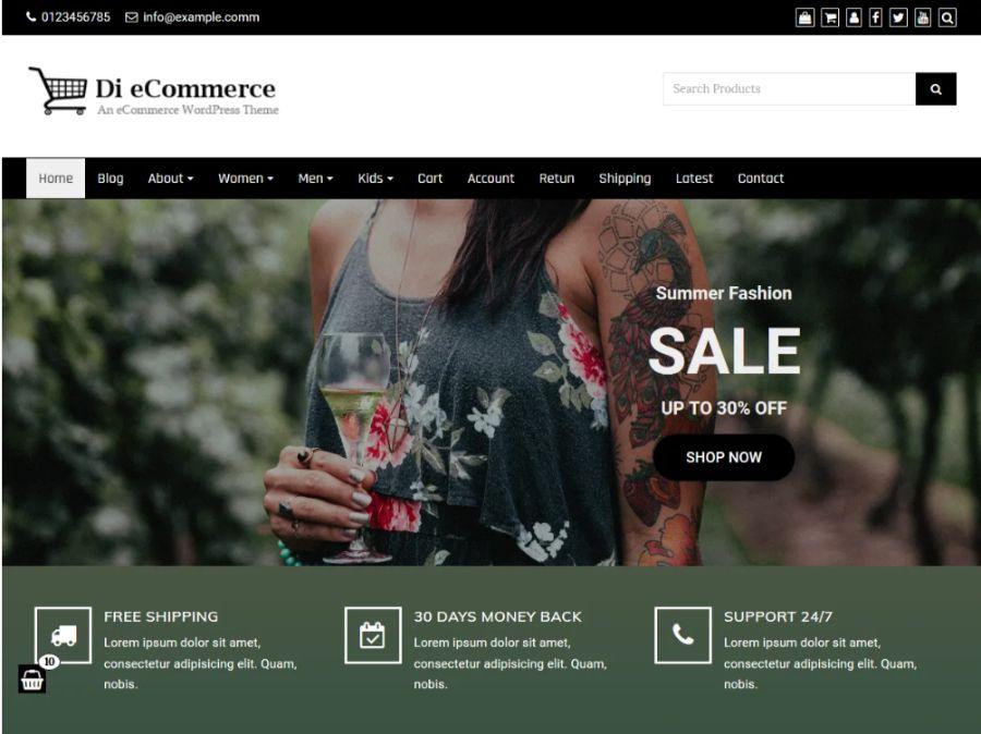 Di eCommerce theme