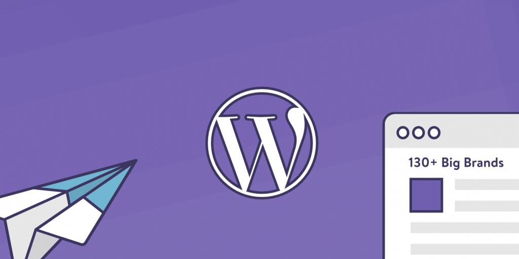 130+ WordPress website eksempler på store brands i 2019