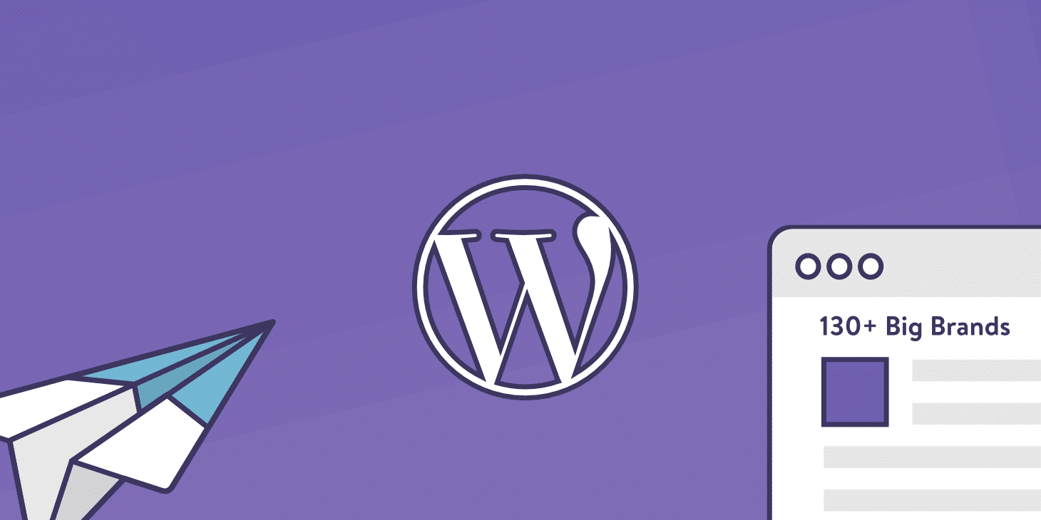 130+ WordPress website eksempler på store brands i 2019