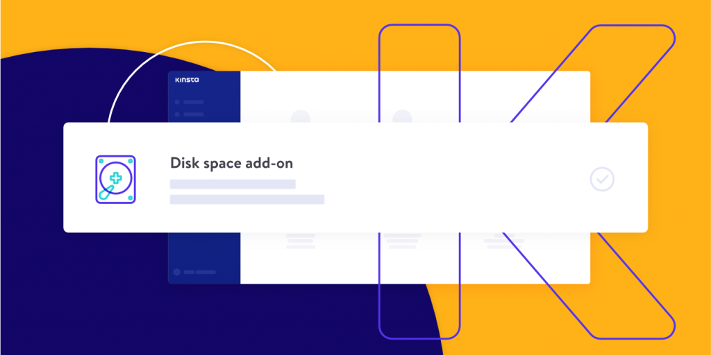 Disk space add-on