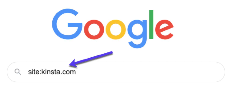 Sådan udføres en sidesøgning i Google