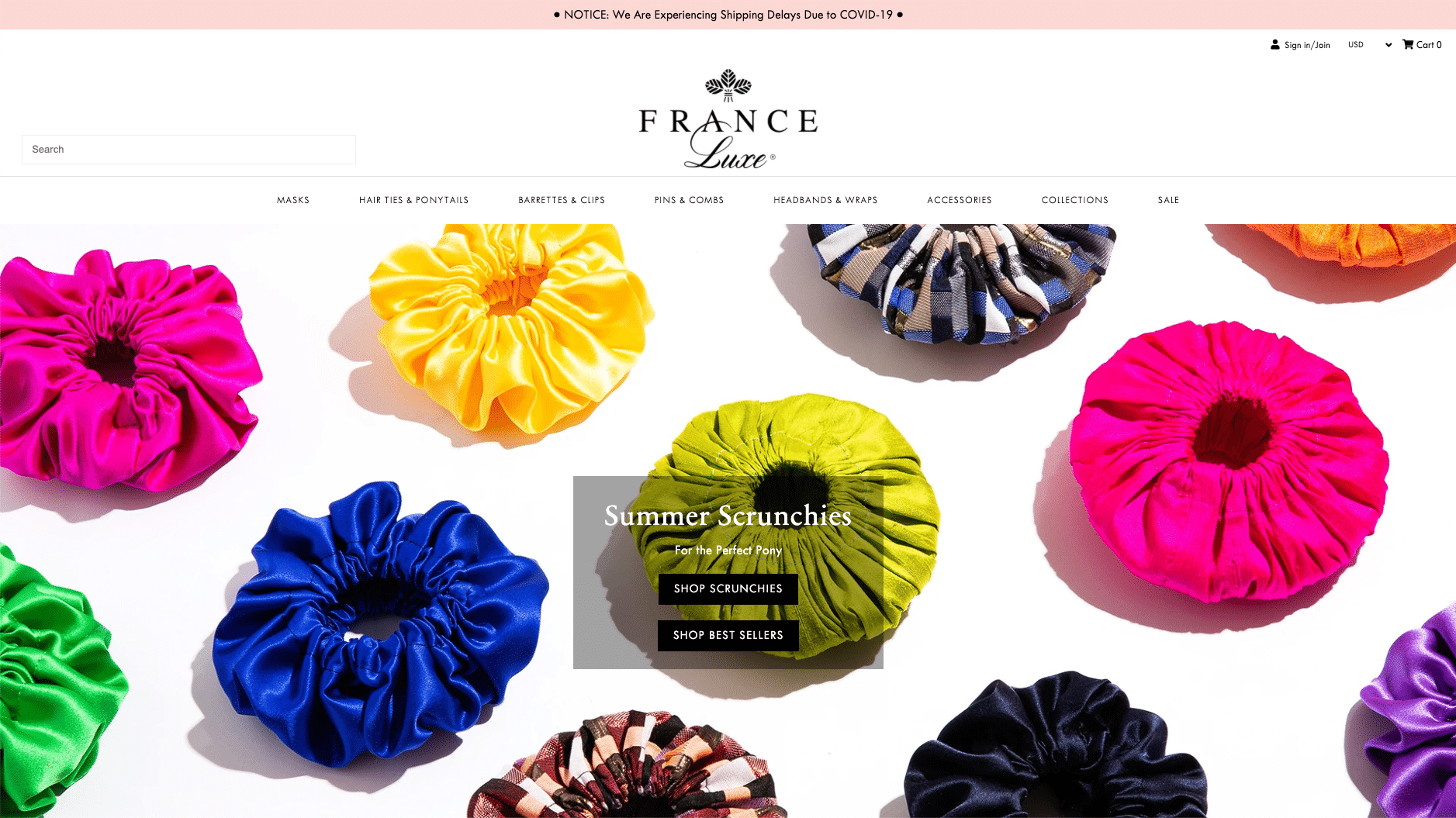 France Luxe, mode tilbehør