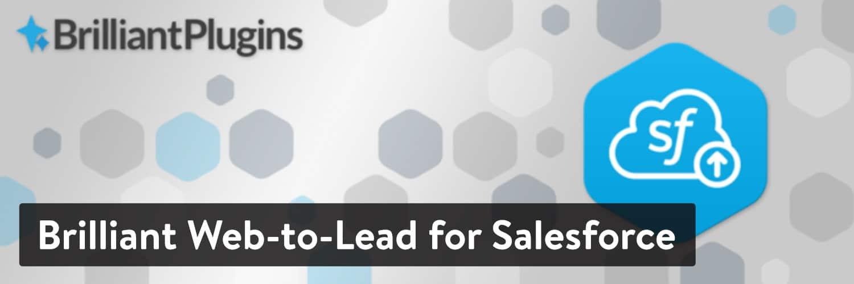 Brilliant Web-to-Lead for Salesforce WordPress-plugin