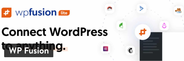 WP Fusion WordPress-plugin