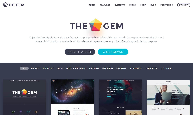The Gem captura de pantalla